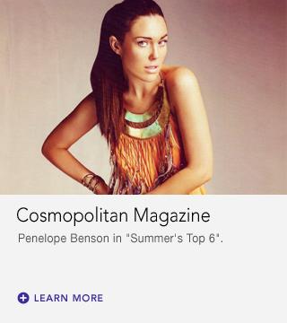 Penelope Benson in Cosmopolitan AU