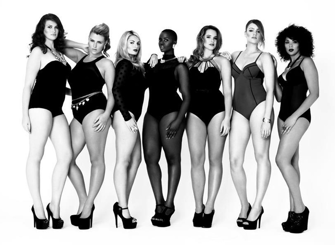 Models 1 promo plus size models