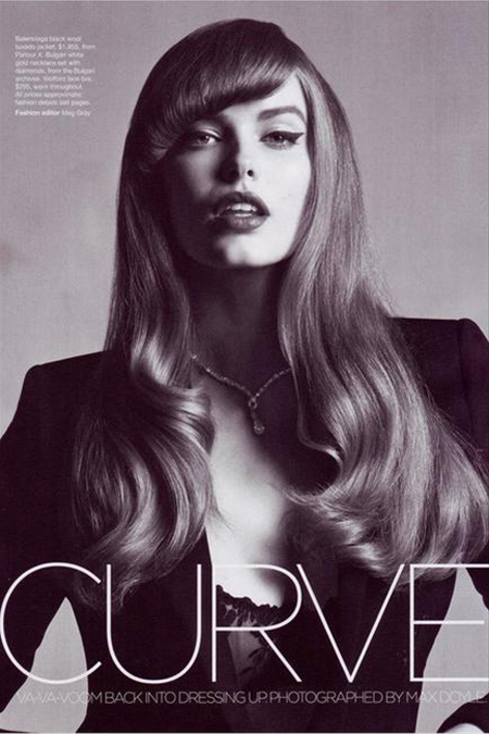 Robyn Lawley in Vogue Austalia